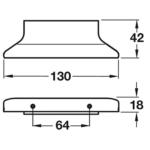 Hafele Ritta Profile Furniture Handle