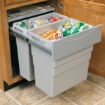 Hailo Easy-Cargo 500mm Pull Out Waste Bin - 49 Litre Capacity