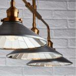 Endon Lighting 3 Light Tabyas Industrial Style Pendant