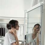 Vibo ELITE Pull Out Wardrobe Mirror With Pivot