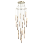 Shard 21 Light LED Drop Ceiling Pendant, IP20 Rated