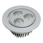 Hafele Loox Java Round Ceiling Fitting - With Swivel Adjustment