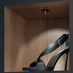 Hafele Loox LED Swivel Cabinet Display Lighting