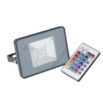 Denver - 10 Watt RGB Colour Changing Slim LED Flood Light