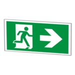 LED Recessed Ceiling Emergency Exit Signs