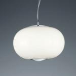 Big Apple Opal Glass Pendant Light