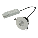Quartz 8W Integrated LED Fire Rated Ceiling Spotlight