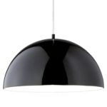 Globe Pendant Light Shades - Half Moon