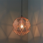 Hex Copper Industrial Pendant Lighting