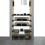 Wardrobe Storage - Pull Out With Adjustable Double Drawer