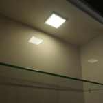 Sirius - Under Cabinet High Output LED Flat Panel Square Light