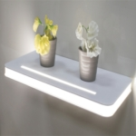 Vega IP44 Floating LED Shelf Lighting