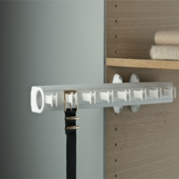 Pull Out Belt Rack For 7 Belts For Wardrobe Interiors
