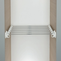 Pull Out Adjustable Trouser Rack For Wardrobe Interiors
