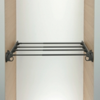 Shelf Pull-Out - Adjustable Width For Wardrobe Interiors