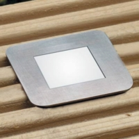 LED Square Decking Lights - 4 Light Kit