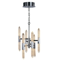 Shard 12 Light LED Ceiling Pendant IP20 Rated