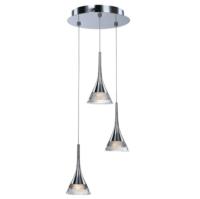 Jewel 3 Light LED Ceiling Pendant IP20 Rated