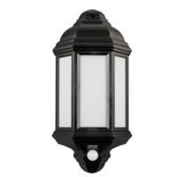 Argyll - Outdoor Wall Light LED Lantern With PIR