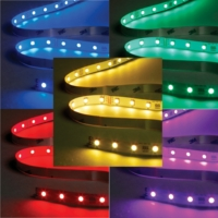 RBG IP65 Waterproof Colour Changing LED Tape - 1m Cut Length