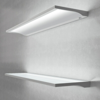 Designer Illuminated LED Floating Box Shelf Light