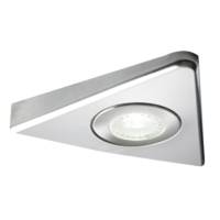 Polaris COB Connect Designer Triangle LED Cabinet Light