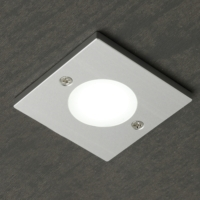 Exceptionnel Square Targa   COB LED Ultra Thin Under Cabinet Light