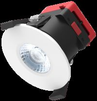 Switchable COB - Dimmable LED IP65 Fire Rated Ceiling Downlight