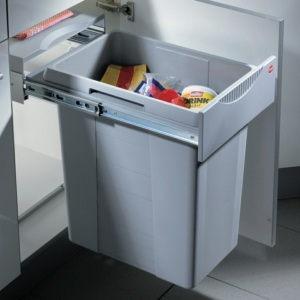 Hailo Easy-Cargo 400mm Pull Out Waste Bin - 40 Litre