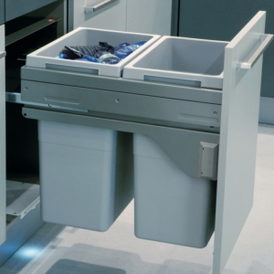 Hailo Euro-Cargo 50 Waste Bin, 70 Litres Capacity