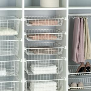 Pelly Bedroom Pull Out Wardrobe Organiser - Deep