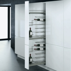 Vauth-Sagel 150mm Pull Out Larder Unit With 16 Bottle Wine Rack