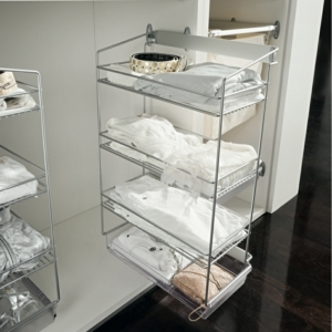 Vibo DREAM Pull Out Shoe Organizer, Side Mounted