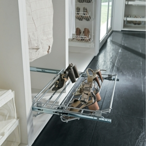 Vibo Pull Out Shoe Organiser, Width Adjustable