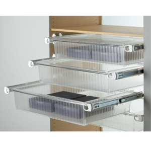 Servetto Roomy Drawer Box With Runners Without Lid