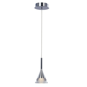 Jewel, Single Light Round LED Drop Ceiling Pendant, IP20 Rated