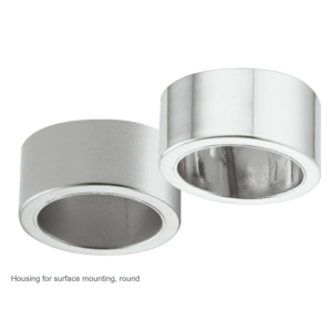 Surface Mounted Collar For Loox 2022 Round recessed Downlight