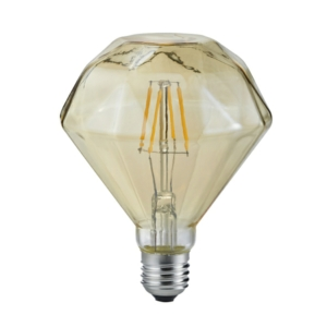 Diamond Shape Vintage E27 4W Fully Dimmable Bulb