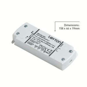 10 Watt Dimmable 12V LED Driver - 6 Way Port