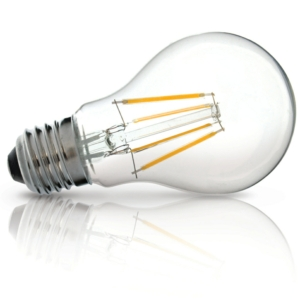 E27 Clear LED Filament Bulb