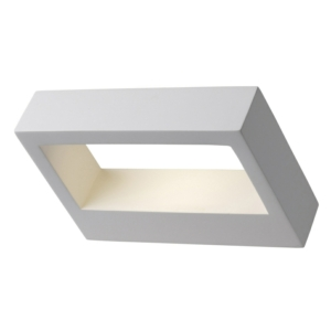 Cordoba - Gypsum Rectangular LED Wall Light
