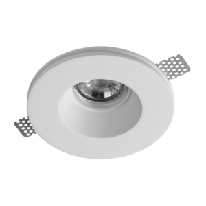 Gypsum Plaster-In Recessed Baffled Ceiling Downlight