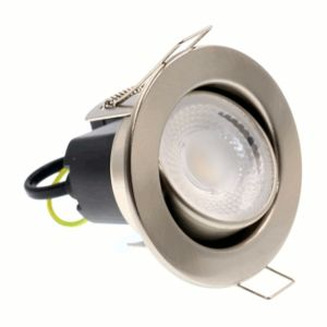 JET 5W LED Tilt Fire Rated Noise & Flicker Free Downlight