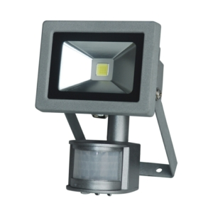 Kinver 12W Outdoor LED Flood Light With PIR Sensor