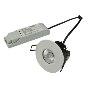 10W Integrated LED Fire Rated Ceiling Light - Colour Temp Adjustable
