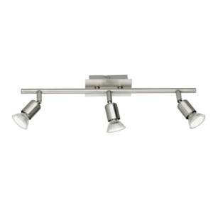 Nimes Triple Head - Contemporary Ceiling Spotlights