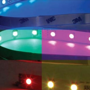 RBG IP65 Waterproof Colour Changing LED Tape