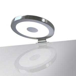 Saba - Circular Colour Temp Control Bathroom Over Cabinet Light