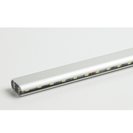 Linear led display profiles hanging rail led aluminium extrusion wardrobe hanging rails sisterspd