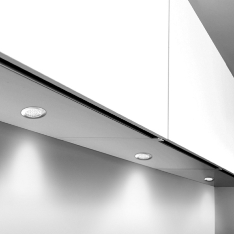 Rimini high output led recessed under cabinet downlight rimini recessed under cabinet led downlights high output aloadofball Images
